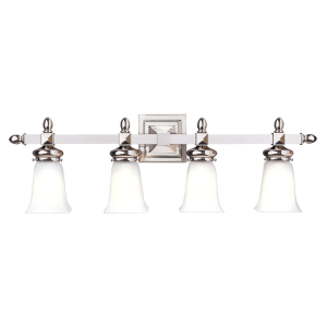 2824-PN_Hudson Valley Cumberland 4-Light Bath Sconce in a Polished Nickel Finish