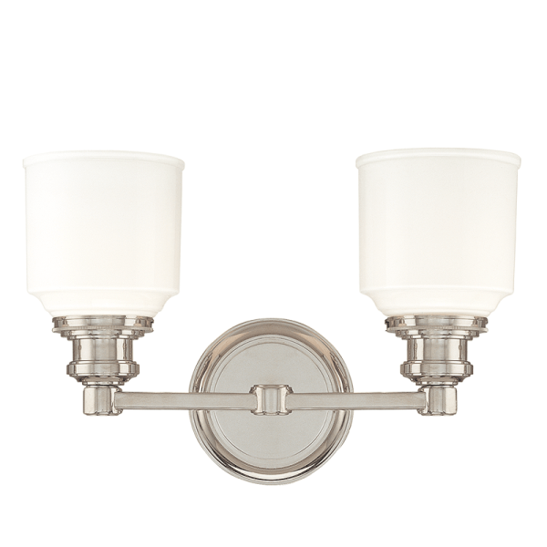 3402-PN_Hudson Valley Windham 2-Light Bath Sconce in a Polished Nickel Finish