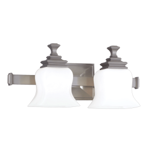 5502-SN_Hudson Valley Wilton 2-Light Bath Sconce in a Satin Nickel Finish