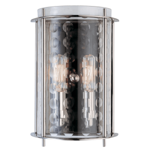 7602-PN_Hudson Valley Esopus 2-Light Wall Sconce in a Polished Nickel Finish