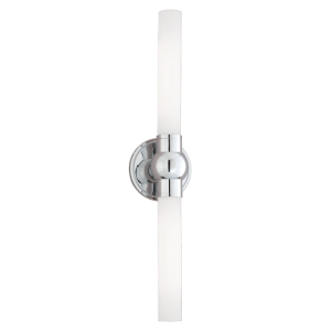 822-PC_Hudson Valley Cornwall 2-Light Bathroom Wall Light in a Polished Chrome Finish