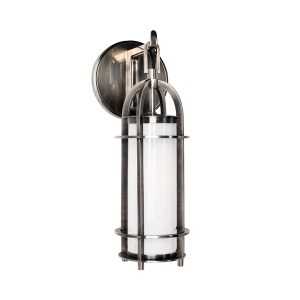 8501-HN_Hudson Valley Portland Wall Sconce and Bathroom Wall Fixture in an Historic Nickel Finish