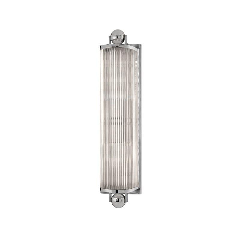 852-PN_Hudson Valley McLean 2-Light Bath Bar in a Polished Nickel Finish