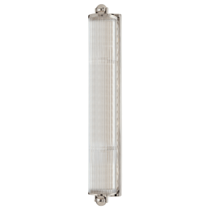 853-PN_Hudson Valley McLean 4-Light Bath Bar in a Polished Nickel Finish