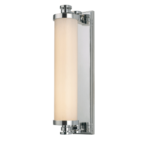 9708-PC_Hudson Valley Sheridan Single Light LED Bath Light Bar in a Polished Chrome Finish