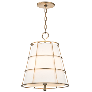 9818-OB_Hudson Valley Savona 3-Light Pendant with an Old Bronze Cage