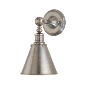 9901HV-HN_Hudson Valley Darien Wall Sconce in an Historic Nickel Finish