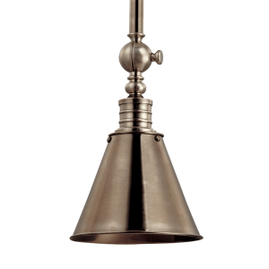 9908HN Hudson Valley Darien Adjustable Pendant in an Historic Nickel Finish
