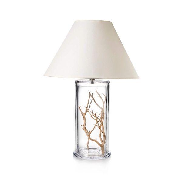1358_Simon Pearce Blown Glass Nantucket Table Lamp - Large