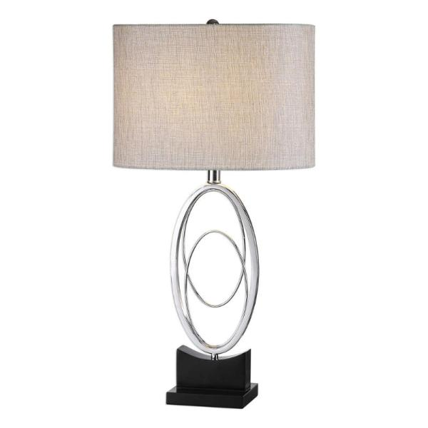 27532-1_Uttermost Savant Polished NIckel Table Lamp