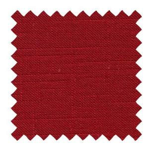 L524 - Textured Linen in Cranberry