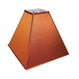 Deep Square Tapered Hardback Lampshades