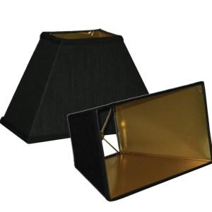 Rectangle Coolie Hardback Lampshades