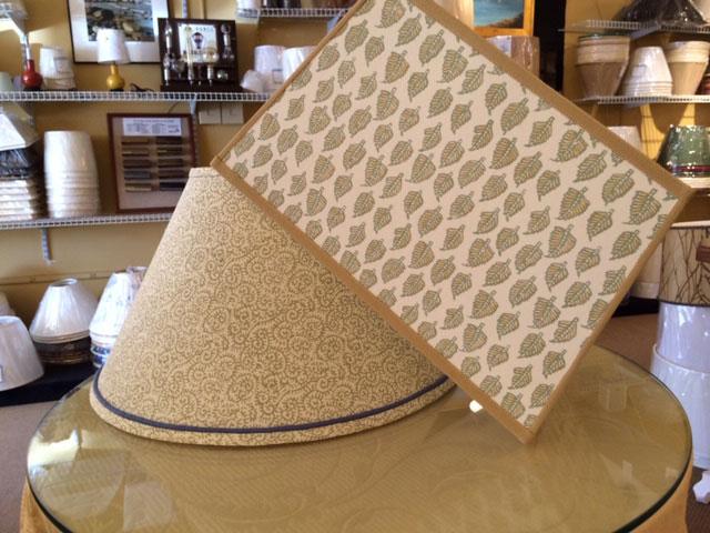 Custom Hardback Lampshades