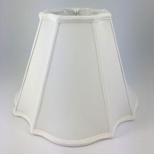 Inverted Corner Empire Silk Lampshades
