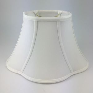French Oval Silk Bell Lampshades