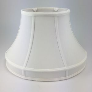 Oval Silk Bell Lampshades with Gallery