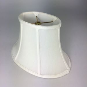 Shallow Oval Silk Bell Lampshades