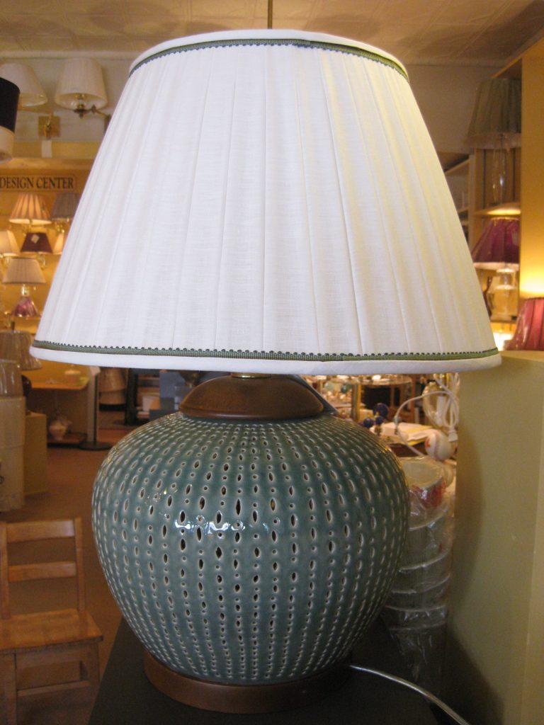 Custom Lampshade and Trim