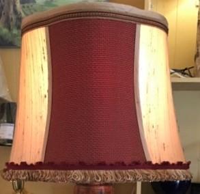 Customer Owned Material Silk Lampshade