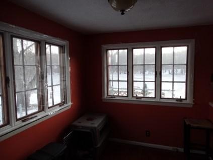 Old, drafty, porch windows.