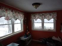 New, energy-efficient, porch windows.