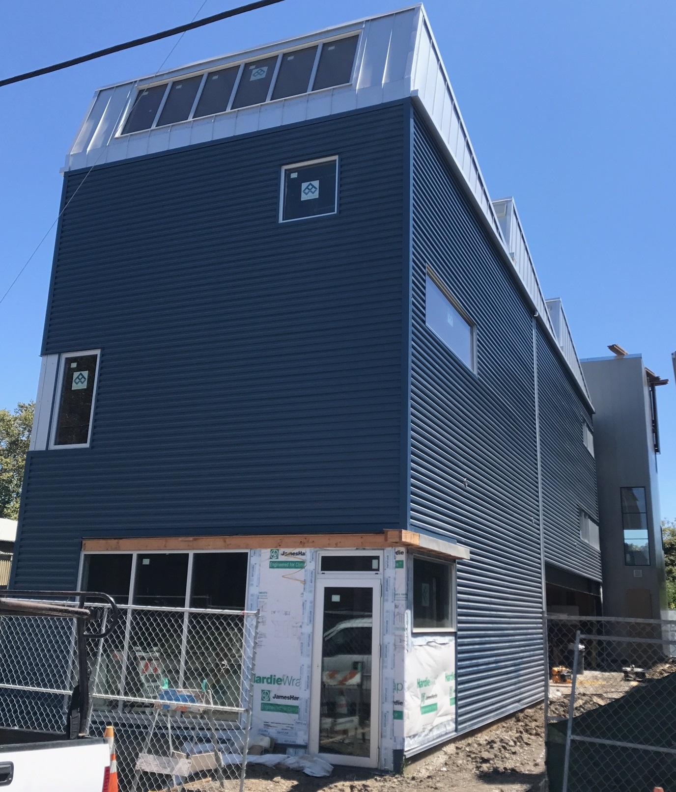22 ga siding panels