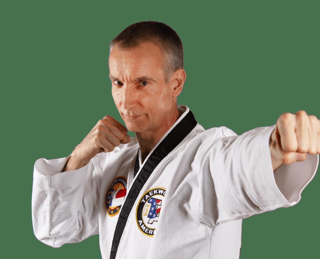 Adult martial arts and self defense instructor at concord taekwondo america