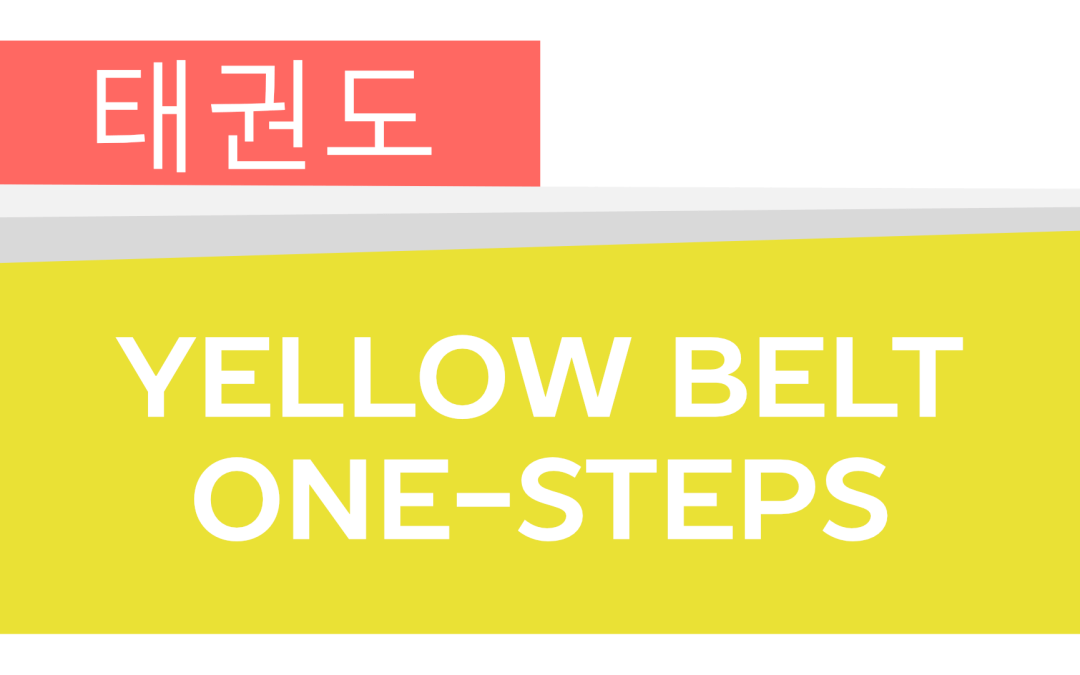How To: Taekwondo America Yellow Belt One-Steps