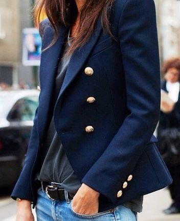 blazer blu
