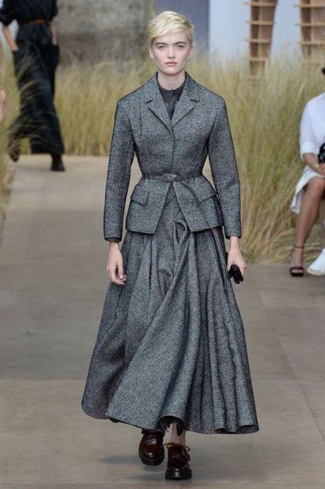 tweed Dior