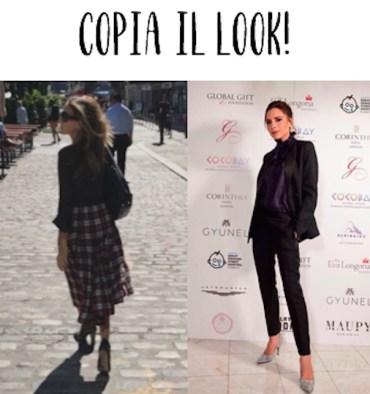 copia il look - Victoria Beckham