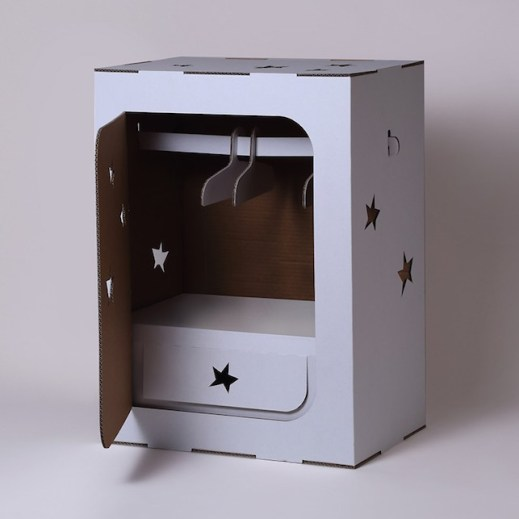 armadio-gioco-cartone-stelle
