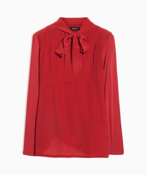 Rosso natale camicia