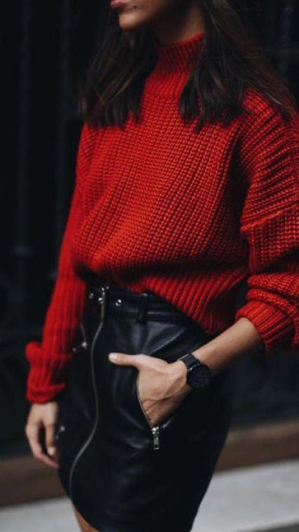 come indossare il rosso