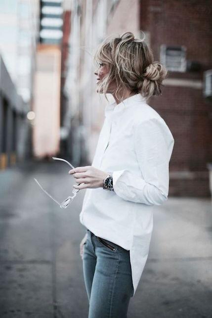 La camicia bianca: come indossare3