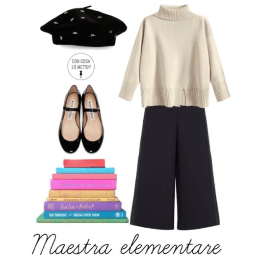 Look da maestra: 3 outfit da mettere in classe!3