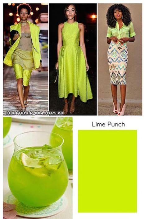 I colori Pantone per la primavera 2018: verde lime punch