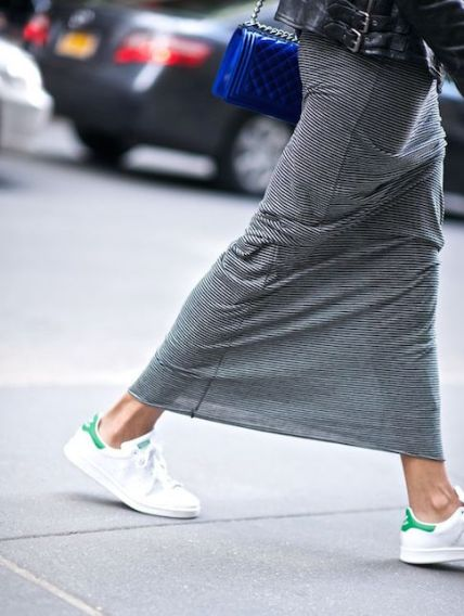La gonna lunga: come indossarla?3