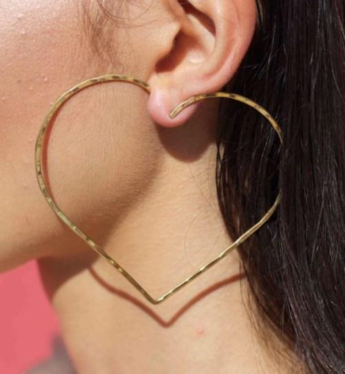 See Me: gioielli fatti con il cuore - orecchino Azza