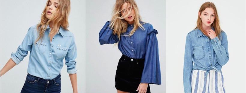La camicia in jeans: i miei consigli di shopping