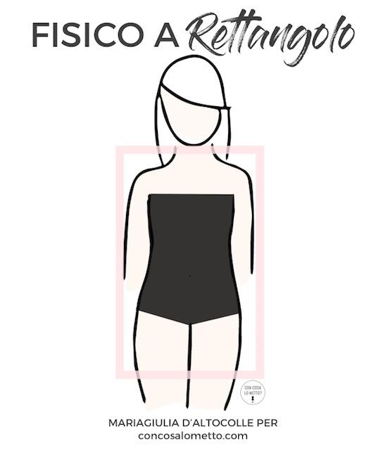 Fisico a rettangolo: cosa indossare per valorizzarlo