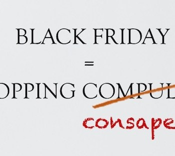 Black Friday shopping consapevole