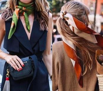Come indossare il foulard: 5 idee facili e chic