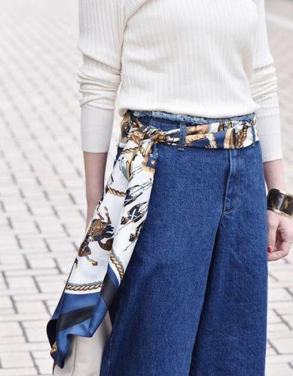 Come indossare foulard idee facili chic