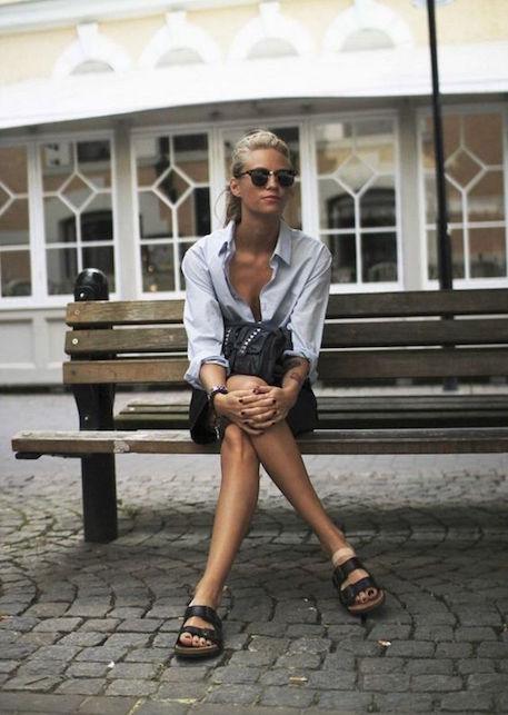 Come indossare le Birkenstock e renderle femminili