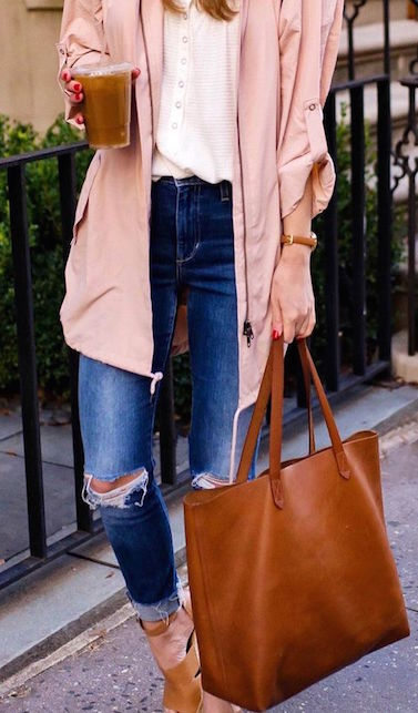 borse color cuoio come abbinarle