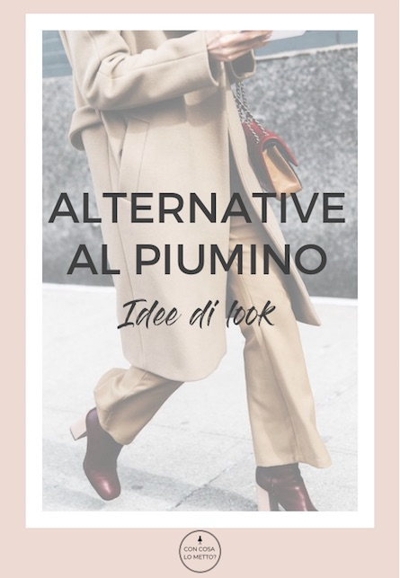 Alternative al piumino: idee di look