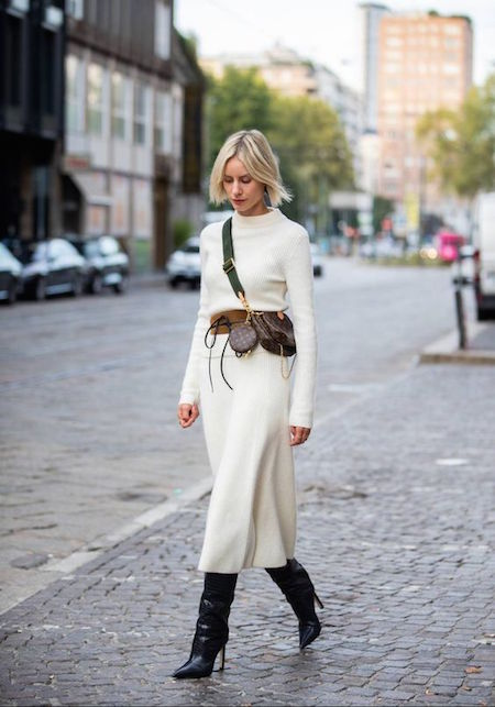 Come indossare gli abiti in maglia
