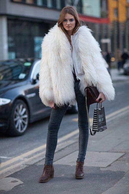 Come indossare la pelliccia con stile